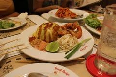 美味的食物在泰国 免版税库存照片