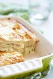 美味lavash乳酪饼 免版税图库摄影