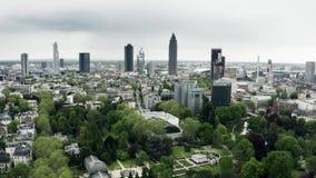 美因河畔法兰克福,德国空中射击  影视素材