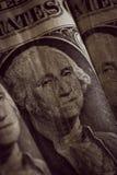 美国一美元笔记 免版税库存照片