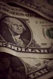 美国一美元笔记 库存图片