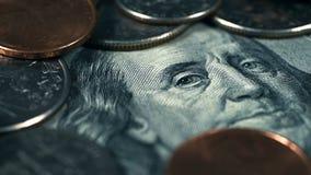 美国两毛五硬币 股票视频