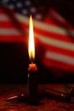 美国为美国祈祷 免版税库存照片