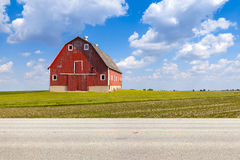 美国乡下公路 库存图片