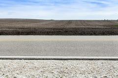 美国乡下公路 免版税图库摄影