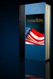 美国书历史记录 免版税图库摄影