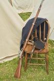 美国人南北战争步兵步枪 免版税库存照片