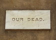 美国人南北战争纪念碑 免版税库存照片