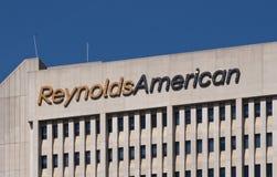 美国人总部设雷诺兹世界 免版税库存照片