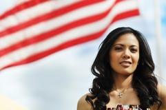 美国人是感到骄傲 免版税库存照片