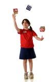 美国人玩杂耍 免版税库存图片