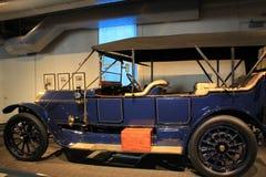 1913美国人菲亚特,萨拉托加汽车博物馆,萨拉托加,纽约无缺点的保养的特写镜头图象, 2015年 免版税库存图片