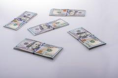 美国人100美元钞票 库存图片