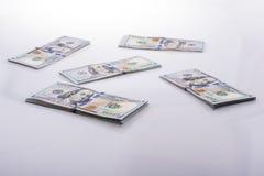 美国人100美元钞票 免版税库存照片