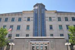 美国使馆在渥太华 免版税库存图片