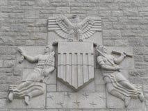 美国公墓圣詹姆斯法国 免版税图库摄影
