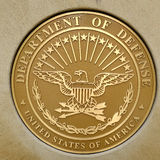 美国军事军队海军空军海军陆战队员的标志 免版税库存图片