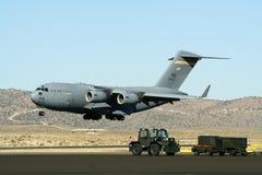 美国军事平面运输 图库摄影