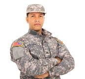 美国军事战士 库存图片