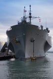 美国军舰 库存照片