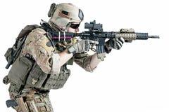 美国军队别动队员 免版税库存图片