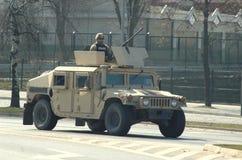 美国军队在波兰 免版税库存照片