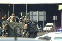 美国军队在波兰 库存照片