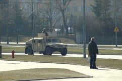 美国军队在波兰 免版税库存图片