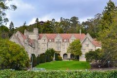 美国加利福尼亚大学校园和宿舍 库存照片