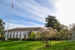 美国加利福尼亚大学校园 免版税库存图片