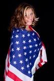 美国包裹了 免版税库存照片