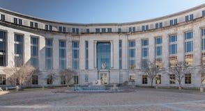 美国区域法院在蒙加马利阿拉巴马 免版税库存照片