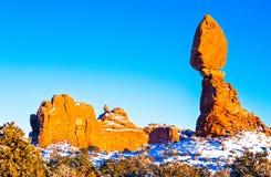 美国南西部公园 免版税库存图片