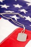美国卡箍标记 库存图片