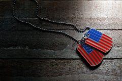 美国卡箍标记 图库摄影