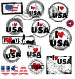 美国印花税 免版税库存图片