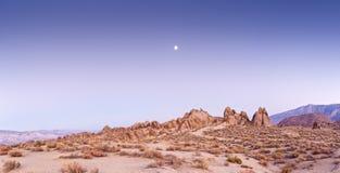 美国原野,阿拉巴马小山,加利福尼亚 库存图片