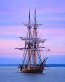 美国双桅船尼亚加拉 库存照片