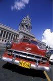 美国古巴哈瓦那 库存照片