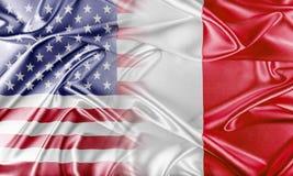 美国和马耳他 免版税库存照片