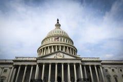 美国国会修造 库存照片