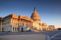 美国国会大厦华盛顿特区 库存照片