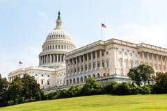 美国国会大厦国会在华盛顿特区的大厦和家 免版税库存照片