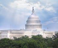 美国国会大厦圆顶 库存图片