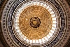 美国国会大厦圆顶 免版税库存图片