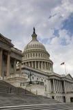 美国国会大厦在华府 免版税库存照片
