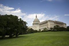 美国国会大厦在华府 免版税图库摄影