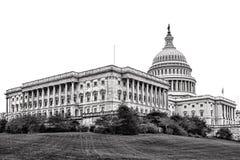 美国国会大厦在华盛顿特区的参议院翼 库存图片