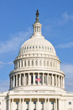 美国国会大厦大厦圆顶  免版税库存图片