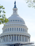 美国国会大厦大厦圆顶  免版税库存照片